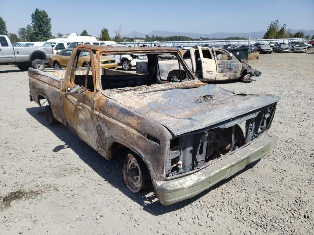 Salvage cars for sale from Copart Eugene, OR: 1985 Ford F150