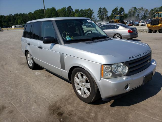 Salvage cars for sale from Copart Dunn, NC: 2006 Land Rover Range Rover