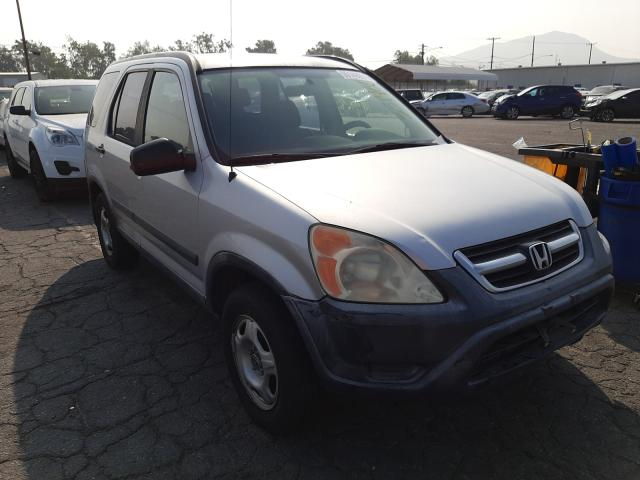 Salvage cars for sale from Copart Colton, CA: 2002 Honda CR-V LX