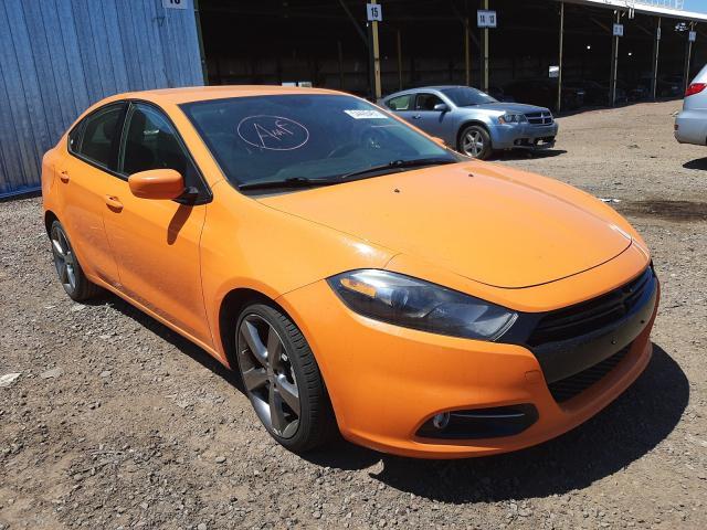 Salvage cars for sale from Copart Phoenix, AZ: 2013 Dodge Dart SXT
