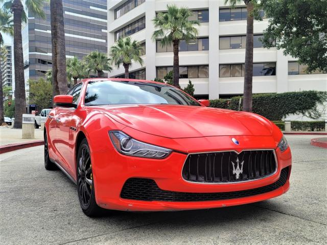 Salvage cars for sale from Copart Bakersfield, CA: 2014 Maserati Ghibli S