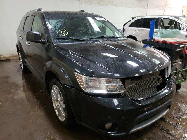 Salvage cars for sale from Copart Davison, MI: 2013 Dodge Journey CR