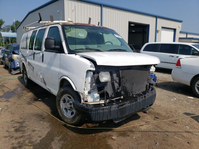 Salvage trucks for sale at Harleyville, SC auction: 2007 Chevrolet Express G1