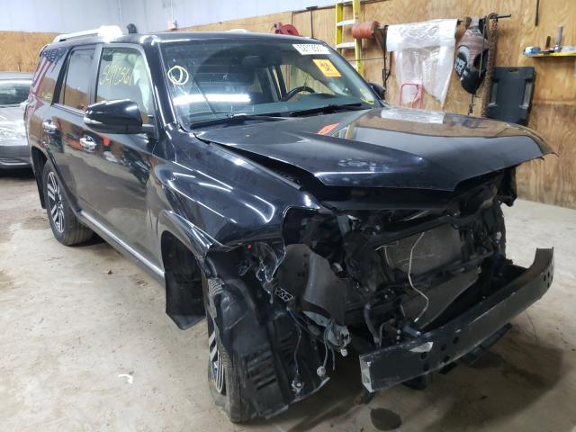 Salvage cars for sale from Copart Kincheloe, MI: 2014 Toyota 4runner SR