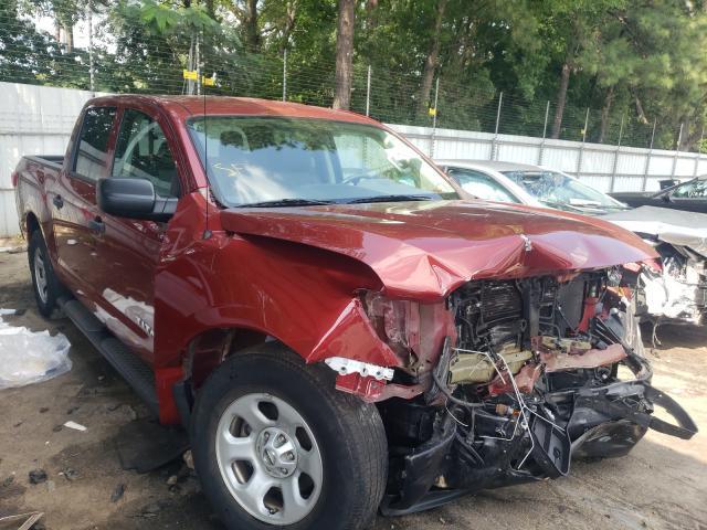 Vehiculos salvage en venta de Copart Austell, GA: 2018 Nissan Titan S
