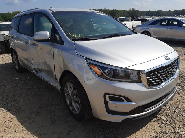 Salvage cars for sale at Conway, AR auction: 2021 KIA Sedona LX
