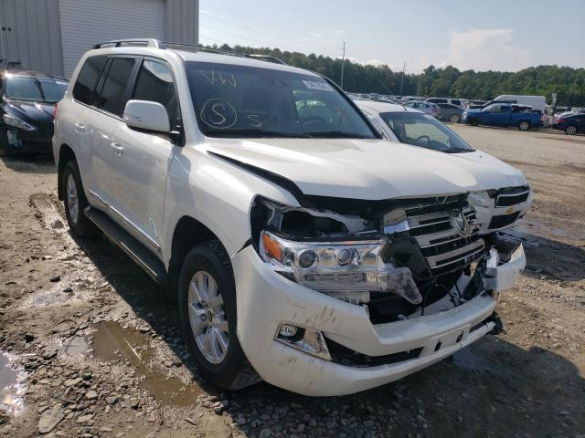 Toyota salvage cars for sale: 2019 Toyota Land Cruiser