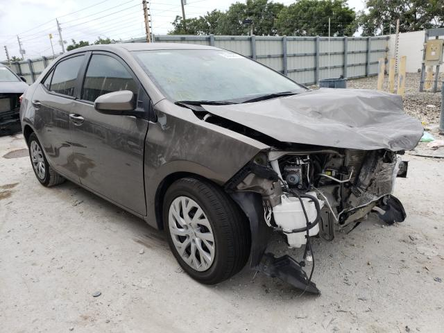 Toyota salvage cars for sale: 2019 Toyota Corolla L