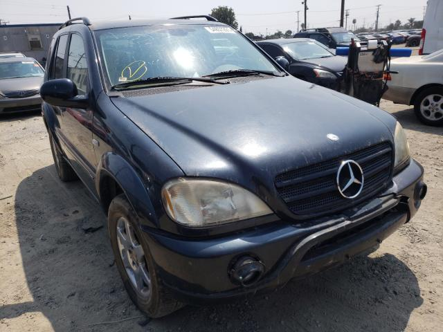 Salvage cars for sale at Los Angeles, CA auction: 2001 Mercedes-Benz ML 320