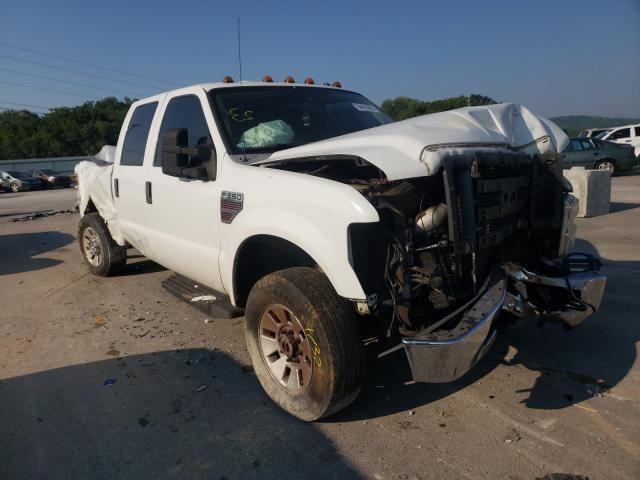 Salvage cars for sale from Copart Lebanon, TN: 2008 Ford F350 SRW S