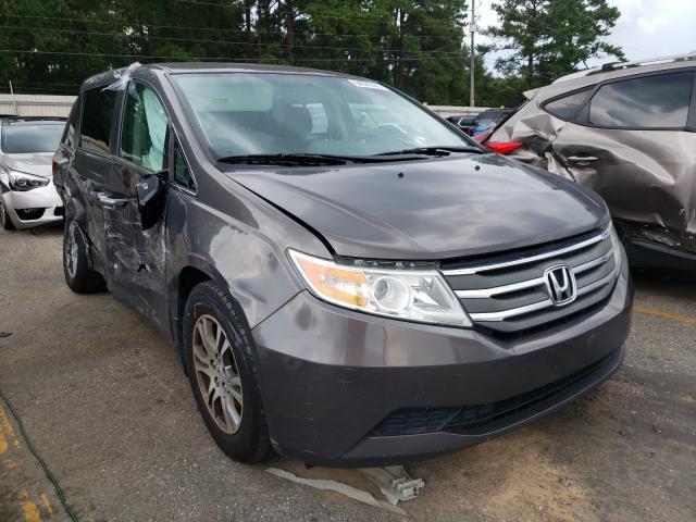 Honda salvage cars for sale: 2012 Honda Odyssey EX