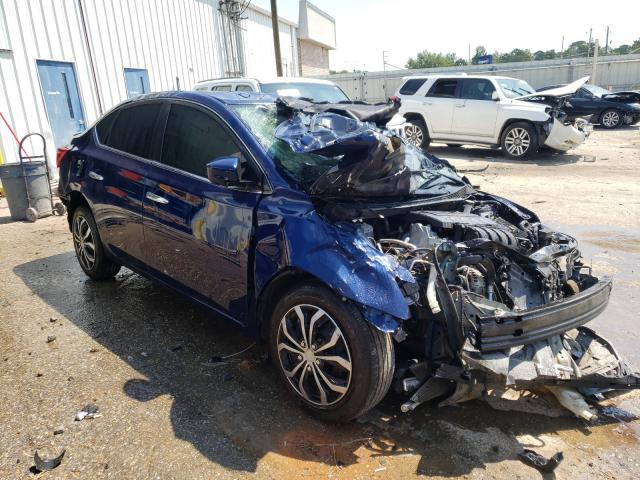 Salvage cars for sale from Copart Montgomery, AL: 2017 Nissan Sentra S