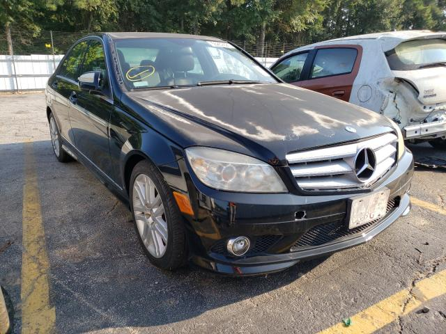 Salvage cars for sale from Copart Austell, GA: 2008 Mercedes-Benz C300