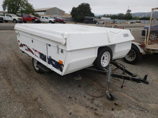 Coleman salvage cars for sale: 1993 Coleman Popup Camp