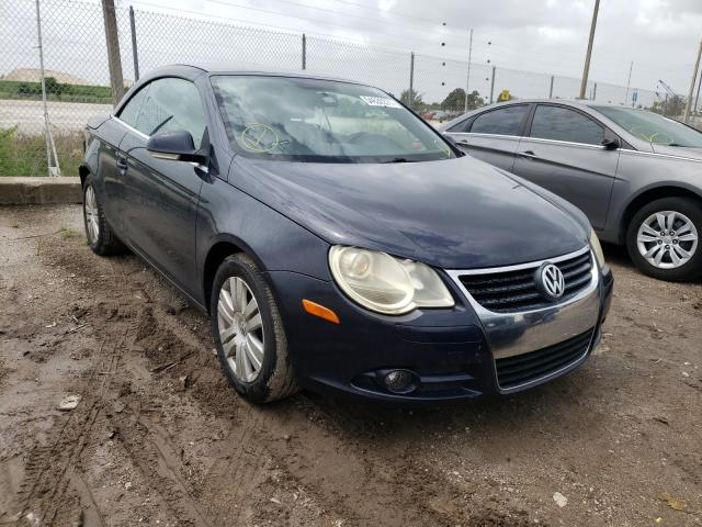 Salvage cars for sale from Copart West Palm Beach, FL: 2008 Volkswagen EOS Turbo