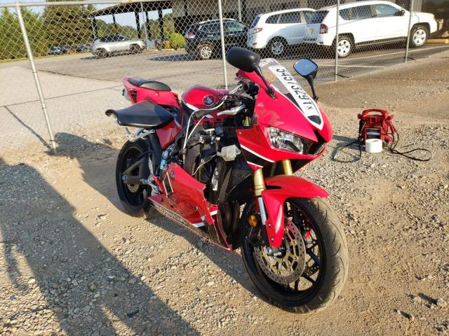 Salvage cars for sale from Copart Tanner, AL: 2018 Honda CBR600 RR