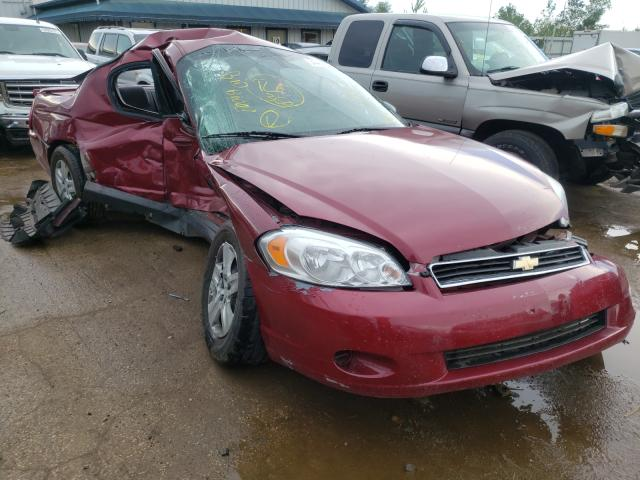 Salvage cars for sale from Copart Pekin, IL: 2006 Chevrolet Monte Carl