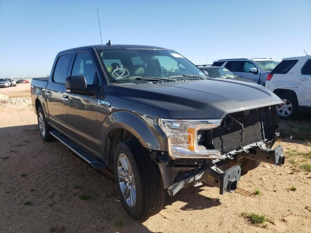Salvage cars for sale from Copart Andrews, TX: 2018 Ford F150 Super