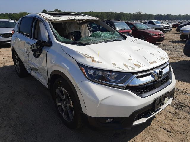 Salvage cars for sale at Conway, AR auction: 2019 Honda CR-V EXL