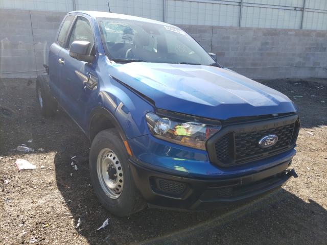 Salvage 2019 FORD RANGER - Small image. Lot 55494101