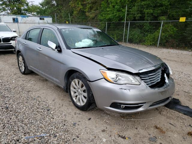 Salvage cars for sale from Copart Northfield, OH: 2013 Chrysler 200 Limited