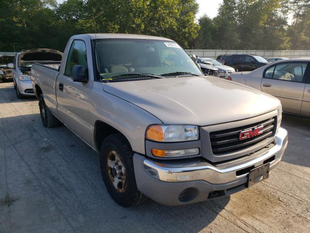 Salvage cars for sale from Copart Ellwood City, PA: 2004 GMC New Sierra