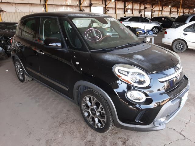 Salvage cars for sale from Copart Phoenix, AZ: 2014 Fiat 500L Trekk
