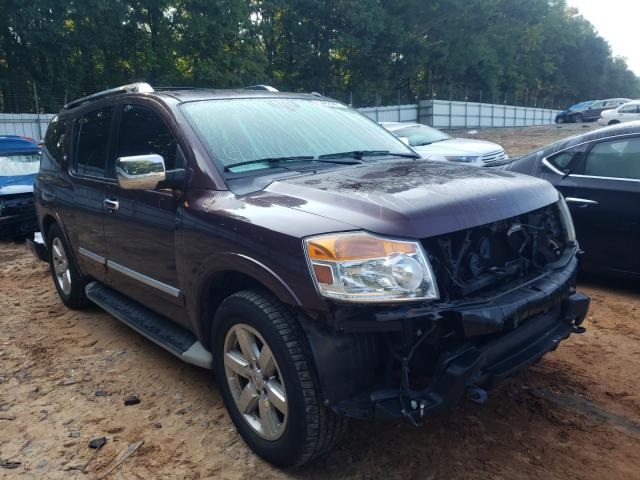 Salvage cars for sale from Copart Austell, GA: 2014 Nissan Armada PLA