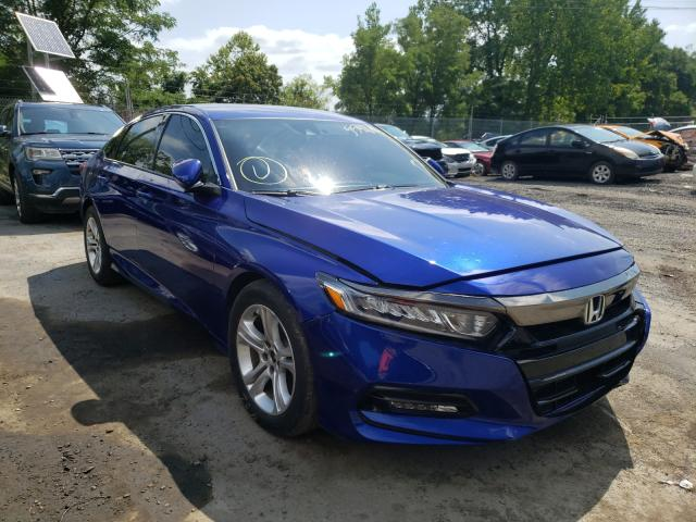 Salvage cars for sale from Copart Marlboro, NY: 2019 Honda Accord Sport