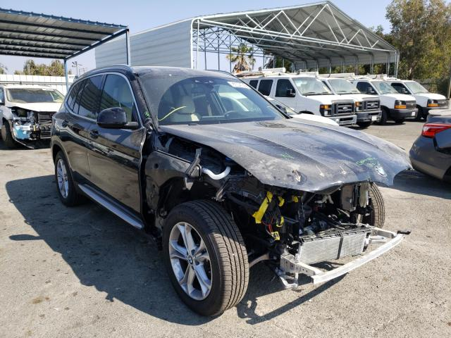 Vehiculos salvage en venta de Copart Martinez, CA: 2021 BMW X3 SDRIVE3