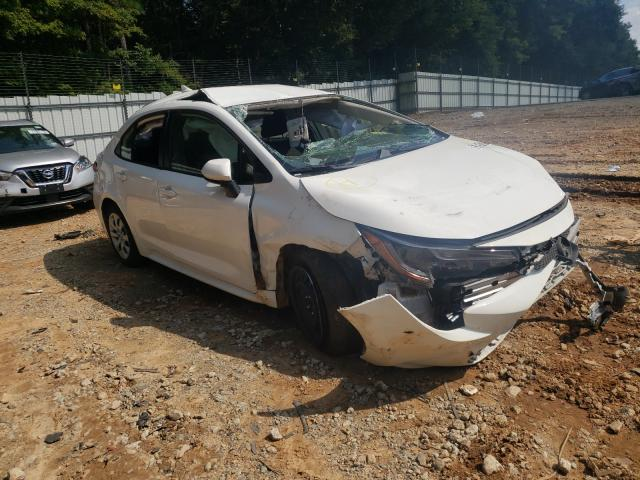 Salvage cars for sale from Copart Austell, GA: 2020 Toyota Corolla LE