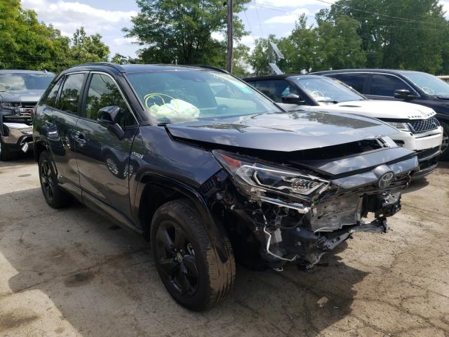 Salvage cars for sale from Copart Marlboro, NY: 2020 Toyota Rav4 XSE
