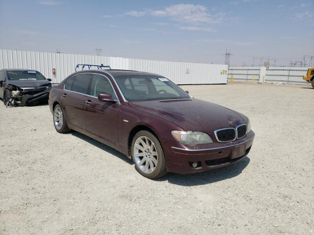 Salvage cars for sale from Copart Adelanto, CA: 2006 BMW 750 LI