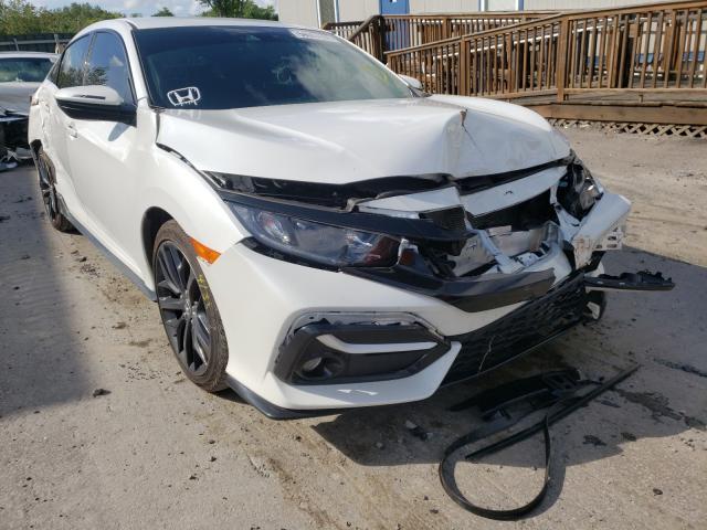 Vehiculos salvage en venta de Copart Duryea, PA: 2021 Honda Civic Sport