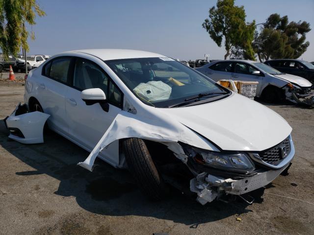 Vehiculos salvage en venta de Copart Martinez, CA: 2015 Honda Civic SE