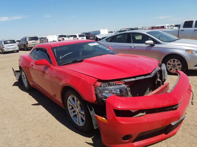 Salvage cars for sale from Copart Amarillo, TX: 2015 Chevrolet Camaro LT