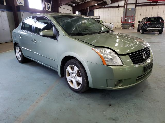 Salvage cars for sale at East Granby, CT auction: 2008 Nissan Sentra 2.0