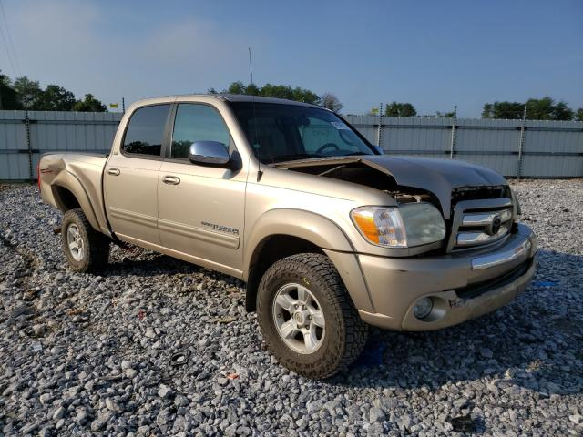 Salvage cars for sale from Copart Cartersville, GA: 2006 Toyota Tundra DOU
