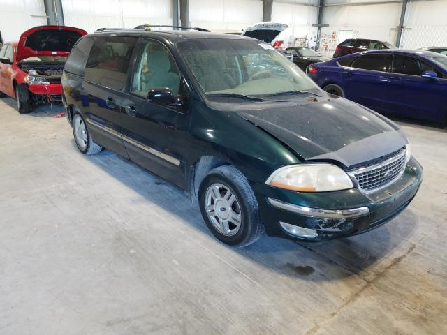 Salvage cars for sale at Greenwood, NE auction: 2001 Ford Windstar S