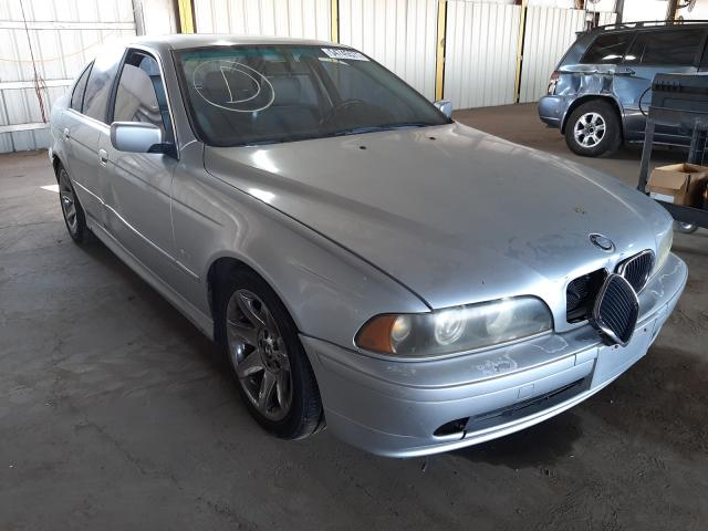 Salvage cars for sale from Copart Phoenix, AZ: 2002 BMW 525 I Automatic
