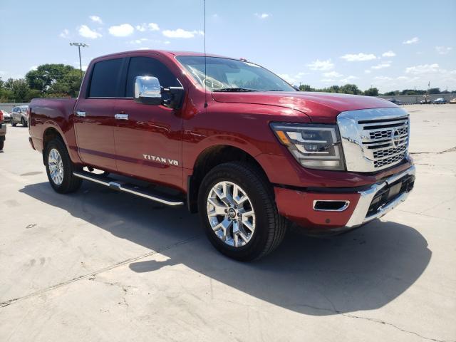 Vehiculos salvage en venta de Copart Wilmer, TX: 2020 Nissan Titan SV