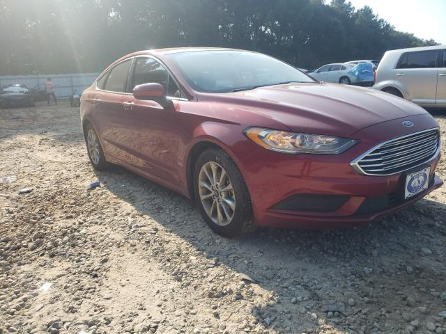 Salvage cars for sale from Copart Austell, GA: 2017 Ford Fusion SE