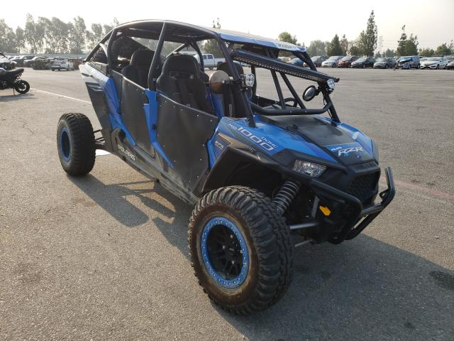 Salvage cars for sale from Copart Rancho Cucamonga, CA: 2015 Polaris RZR XP 4 1