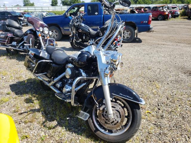 Salvage cars for sale from Copart Davison, MI: 2005 Harley-Davidson Flhr
