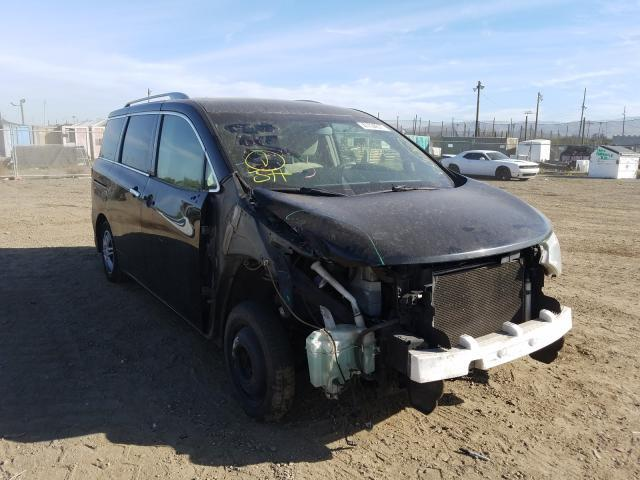 Salvage cars for sale from Copart San Martin, CA: 2012 Nissan Quest S