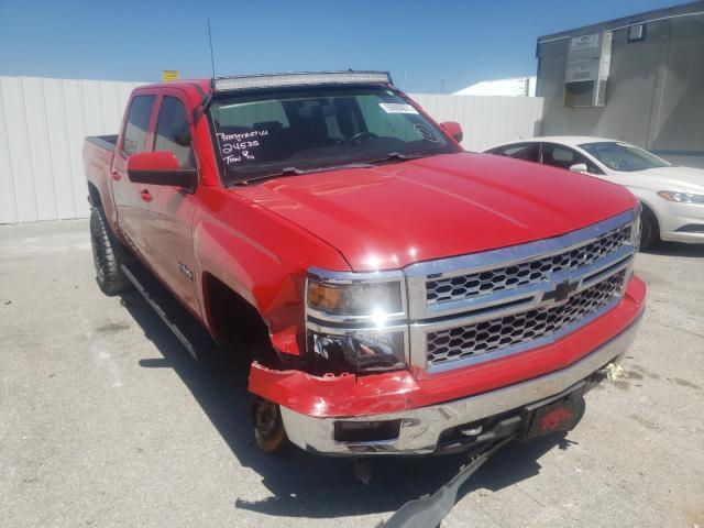 Salvage trucks for sale at Prairie Grove, AR auction: 2014 Chevrolet Silverado