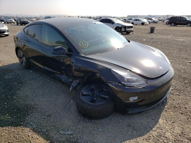 Tesla salvage cars for sale: 2021 Tesla Model 3
