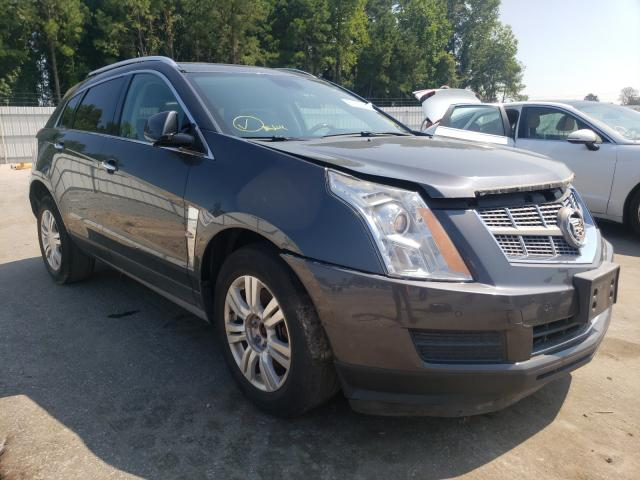 Salvage cars for sale from Copart Dunn, NC: 2011 Cadillac SRX Luxury
