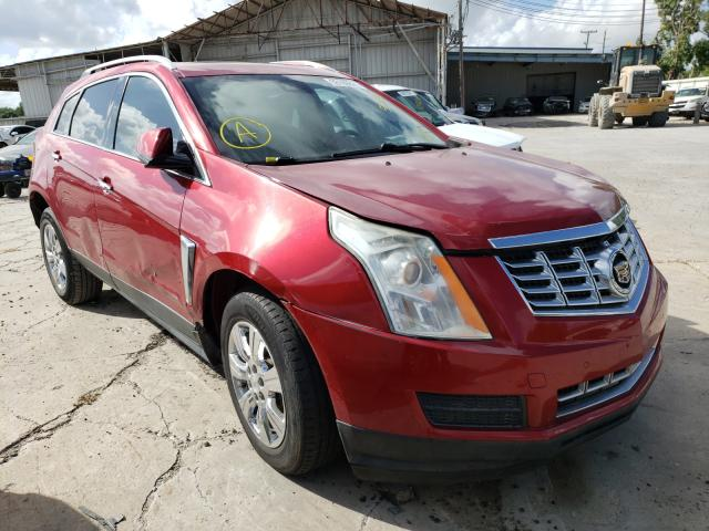 Salvage cars for sale from Copart Corpus Christi, TX: 2015 Cadillac SRX Luxury