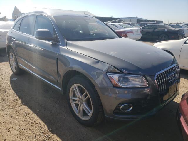 Audi salvage cars for sale: 2016 Audi Q5 TDI Premium